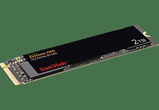 SANDISK Extreme PRO® M.2 NVMe 3D, 2 TB, Interner Speicher, 2,5 Zoll, intern