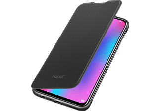 HONOR 10 LITE flip cover fekete tok