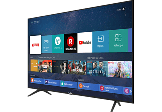 HISENSE H 65 B 7100 LED TV (Flat, 65 Zoll / 164 cm, UHD 4K, SMART TV, VIDAA U3.0)