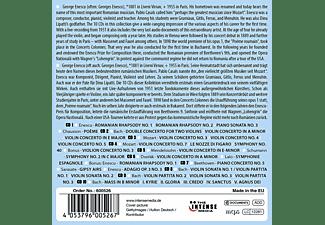 George Enescu - Masterworks-George Enescu  - (CD)