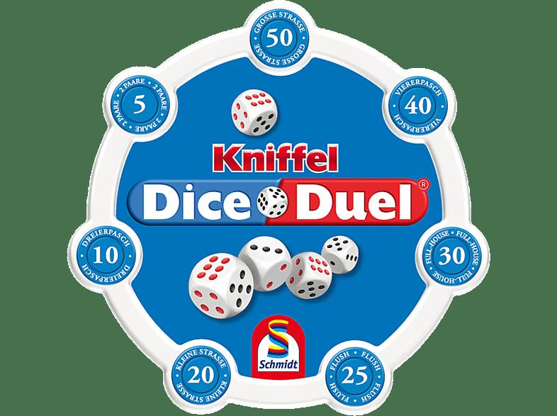 SCHMIDT SPIELE (UE) Kniffel Dice Duel® Familienspiel, Mehrfarbig