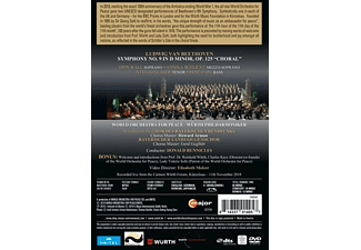 VARIOUS, World Orchestra For Peace, Chor Des Bayerischen Rundfunks - The UNESCO Beethoven 9 for Peace  - (DVD)