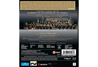 World Orchestra For Peace, Chor Des Bayerischen Rundfunks, VARIOUS - The UNESCO Beethoven 9 for Peace  - (Blu-ray)