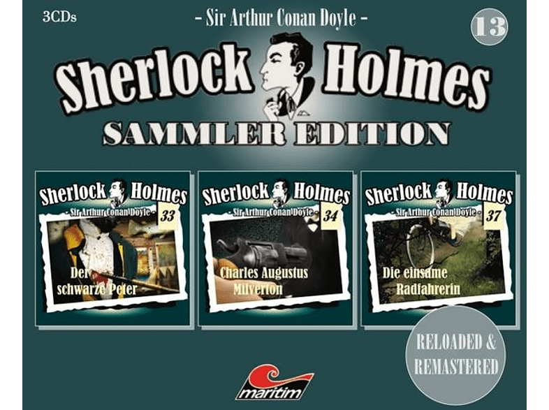 Sherlock Holmes Sammler Edition - Folge 13 - (CD)