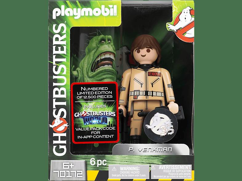 PLAYMOBIL Ghostbusters Peter Venkman Sammelfigur, Mehrfarbig