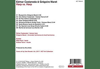 Castaneda,Edmar/Maret,Gregoire - Harp Vs. Harp  - (CD)