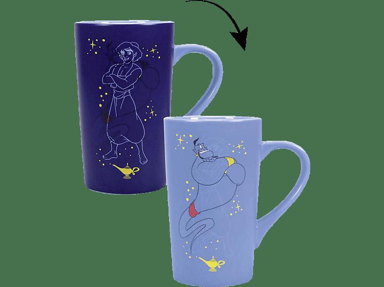HALF MOON BAY Disney Genie Latte Macchiato Tasse Tasse, Blau