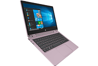 TREKSTOR Primebook C11B-CO, Convertible mit 11.6 Zoll Display, Celeron®  Prozessor, 4 GB RAM, 64 GB Interner Speicher, Intel® HD-Grafik 500, Roségold