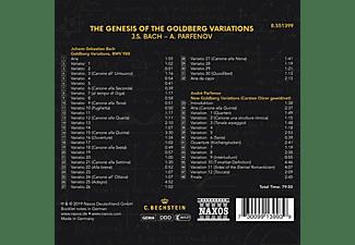 André Parfenov - THE GENESIS OF THE GOLDBERG VARIATIONS  - (CD)