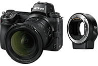 NIKON Z7 14-30mm + FTZ Systemkamera 45.7 Megapixel mit Objektiv 14-30 mm , 8 cm Display   Touchscreen, WLAN
