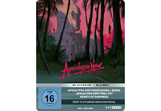 Apocalypse Now (40th Anniversary Edition Steelbook) 4K Ultra HD Blu-ray + Blu-ray