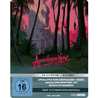 Apocalypse Now (40th Anniversary Edition Steelbook) 4K Ultra HD Blu-ray + Blu-ray