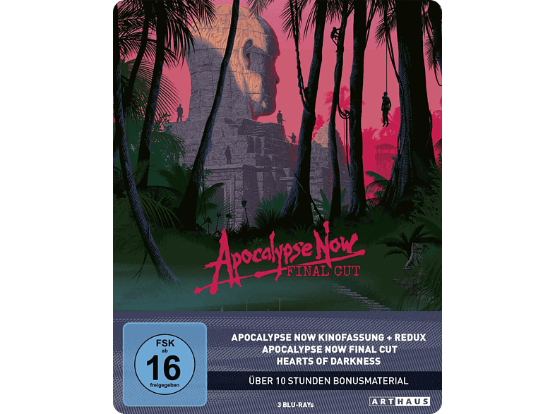 Apocalypse Now (40th Anniversary Edition Steelbook) [Blu-ray]