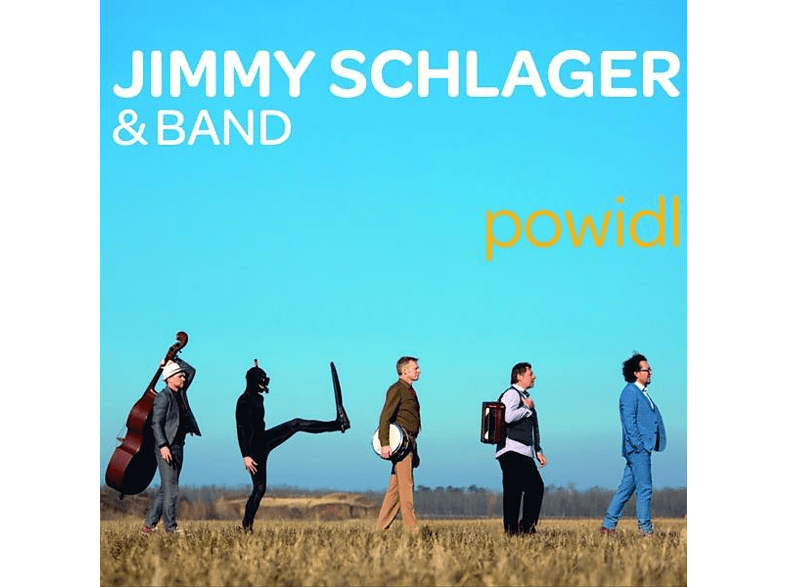 Jimmy Schlager & Band - Powidl [CD]