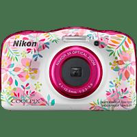 NIKON W 150 Digitalkamera Mehrfarbig, 13.2 Megapixel, 3 fach opt. Zoom, LCD-TFT