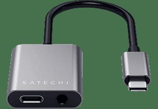 SATECHI Type-C to 3.5 mm Klinke Adapter, Anthrazit