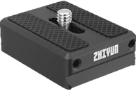 ZHIYUN TransMount Kamerastützplatte, Schwarz