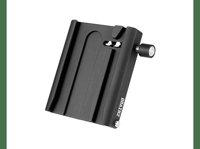 ZHIYUN TransMount Schnellkupplungsplatte, Schwarz