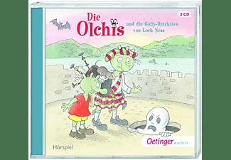 Erhard Dietl - Die Olchis und die Gully-Detektive von Loch Ness  - (CD)