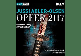 Jussi Adler-olsen - OPFER 2117 DER ACHTE FALL FÜR CARL M°RCK  - (MP3-CD)