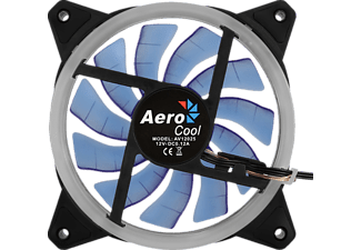 AEROCOOL REV BLUE 120 MM Gehäuse-Lüfter, Schwarz