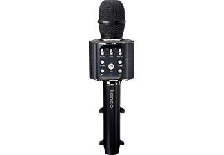 LENCO BMC-090BK Karaoke Mikrofon, Schwarz