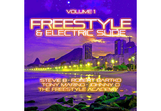 VARIOUS - Freestyle & Electric Slide Vol.1  - (CD)