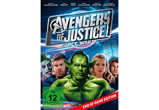 Avengers of Justice: Farce Wars DVD