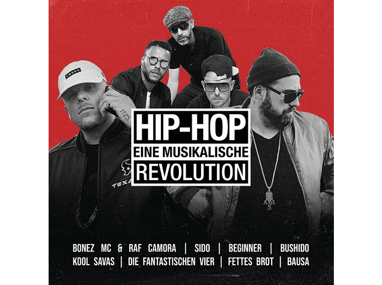 VARIOUS - Hip Hop-Eine Musikalische Revolution [CD]