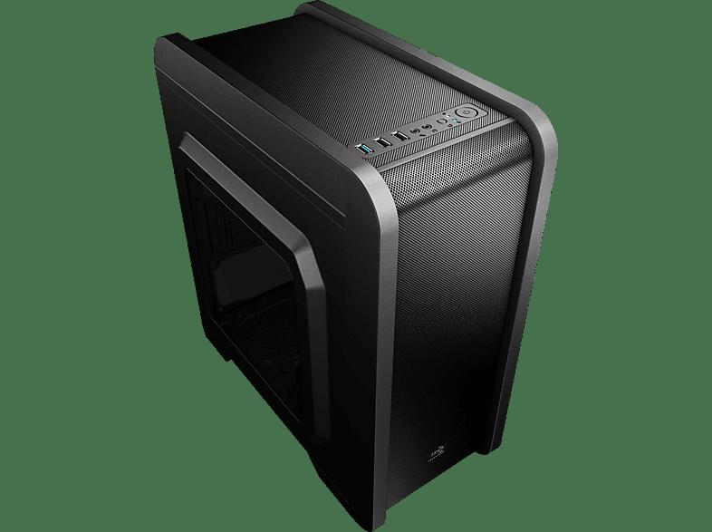 AEROCOOL QS-240 PC-Gehäuse, Schwarz