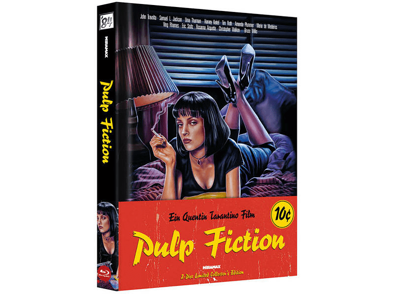Pulp Fiction - Mediabook - Cover A [Blu-ray + DVD]