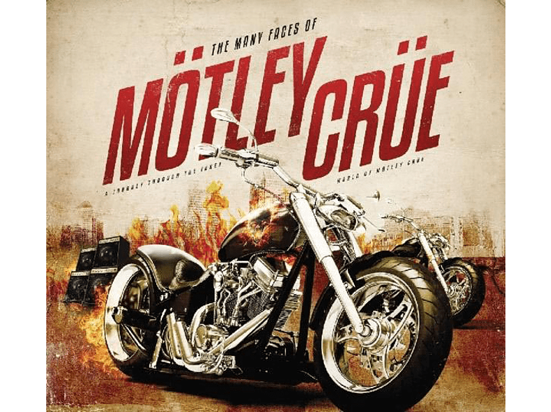 VARIOUS - Many Faces Of Mötley Crüe [CD]