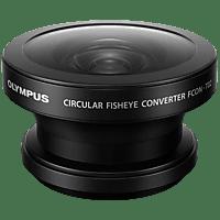 OLYMPUS FCON‑T02 Fish-Eye Konverter, Schwarz