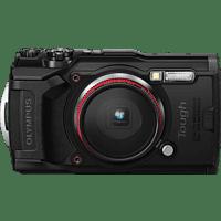 OLYMPUS TG-6 Digitalkamera Schwarz, 12 Megapixel, 4x opt. Zoom, LCD, WLAN