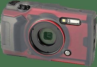 OLYMPUS CSCH‑127 Silikon Schutzhülle (TG‑6) , Kameraschutzhülle, Halbtransparent