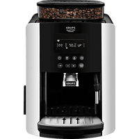 KRUPS EA8178 Arabica Display Quattro Force Kaffeevollautomat Schwarz/Carbon-Optik