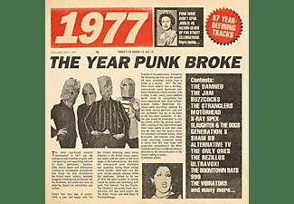 VARIOUS - 1977-The Year Punk Broke (3CD Boxset)  - (CD)