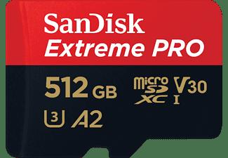 SANDISK Extreme PRO®, Micro-SDXC Speicherkarte, 512 GB, 170 MB/s