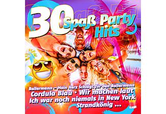 VARIOUS - 30 Spaß Party Hits  - (CD)