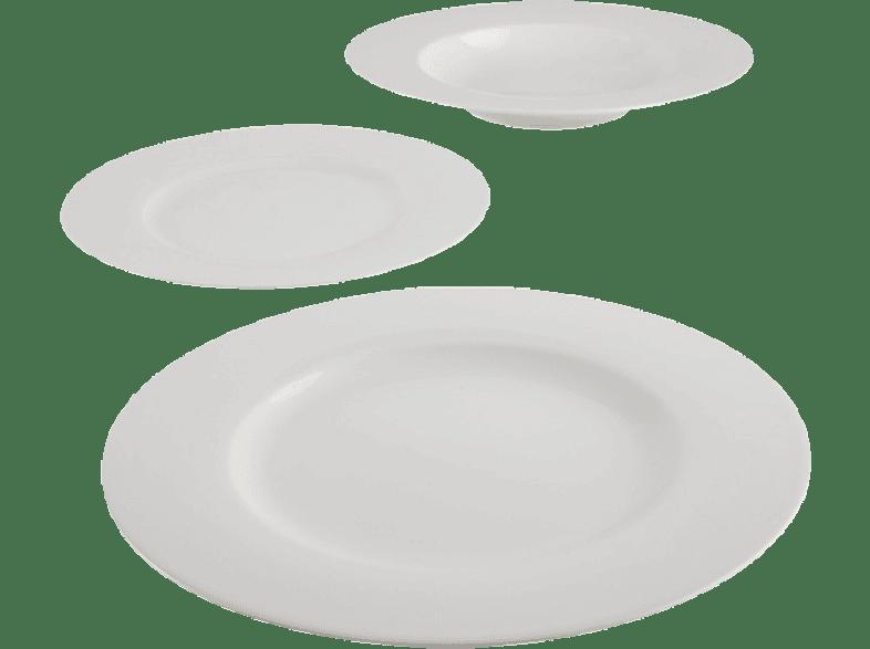 VIVO 19-5277-7271 Basic White Starter Set 12 tlg. Geschirr-Set