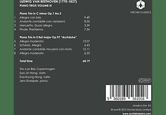 Trio Con Brio Copenhagen - Klaviertrios Vol.3  - (CD)