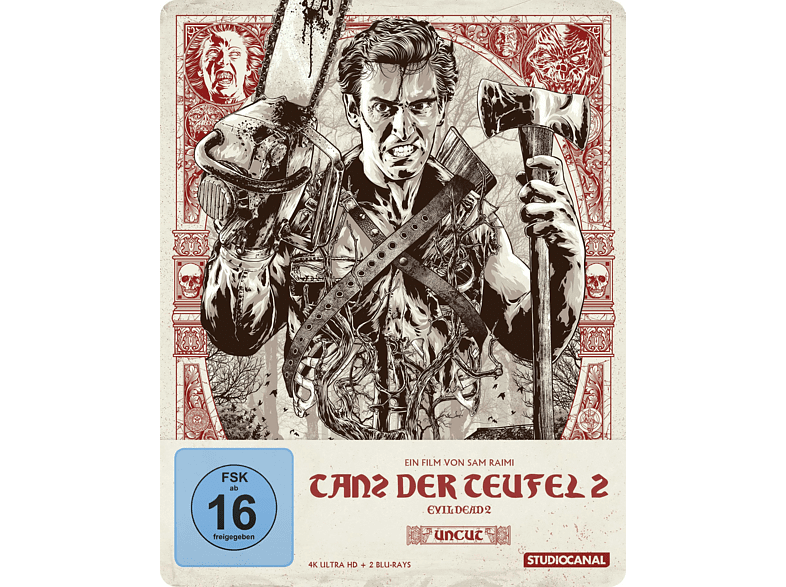 Tanz der Teufel 2 - Uncut - Steelbook Coll.Edit.4K [4K Ultra HD Blu-ray]