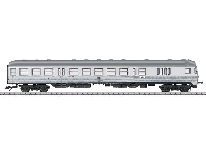 MÄRKLIN 43899 - Nahverkehrs-Steuerwagen Silberling 2. Klasse Personenwagen, Silber