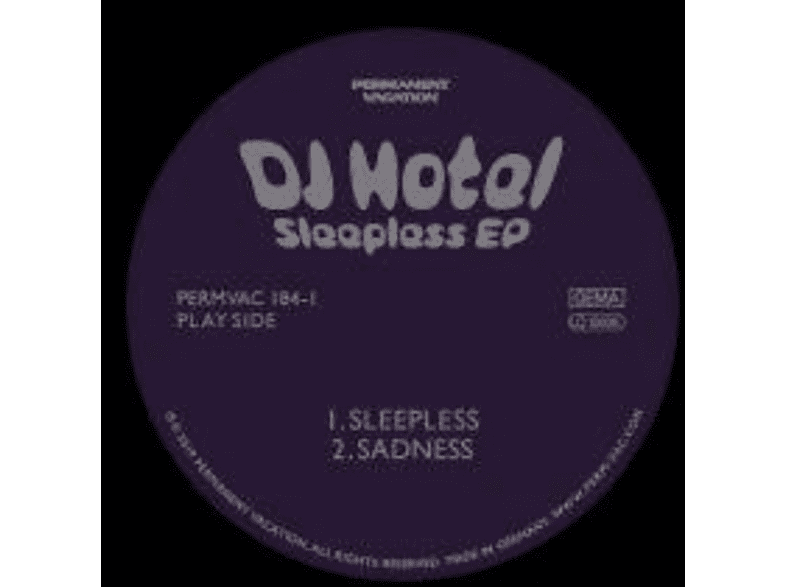 DJ Hotel - Sleepless EP [Vinyl]