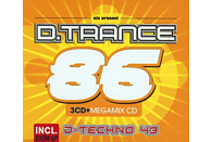 VARIOUS - D.Trance 86 (Incl.D.Techno 43) [CD]