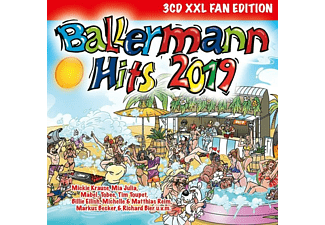 VARIOUS - Ballermann Hits 2019 (XXL Fan Edition) - (CD)