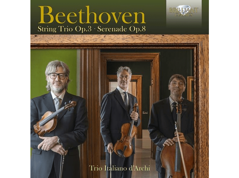 Trio Italiano D'archi - Beethoven:String Trio op.3,Serenade op.8 [CD]