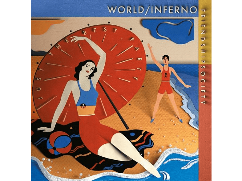 The World Inferno Friendship Society - Just The Best Party (8 Page Booklet/Download) [Vinyl]