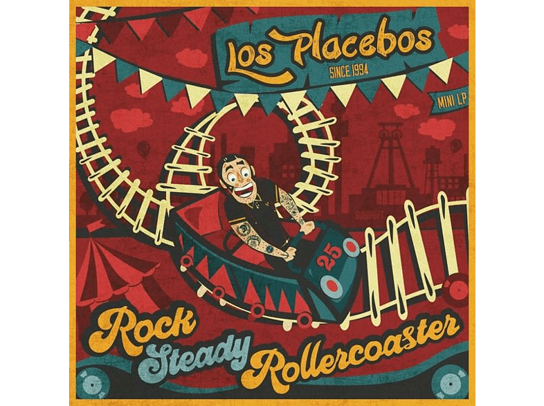 Los Placebos - Rock Steady Rollercoaster [LP + Download]