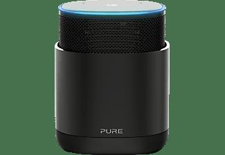 PURE DiscovR Smart Speaker mit Bluetooth, AirPlay 2 und Spotify Connect, black